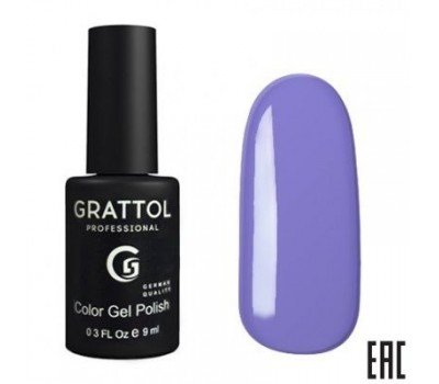 Grattol Color Gel Polish Cornflower Сиреневый Гель-Лак 005